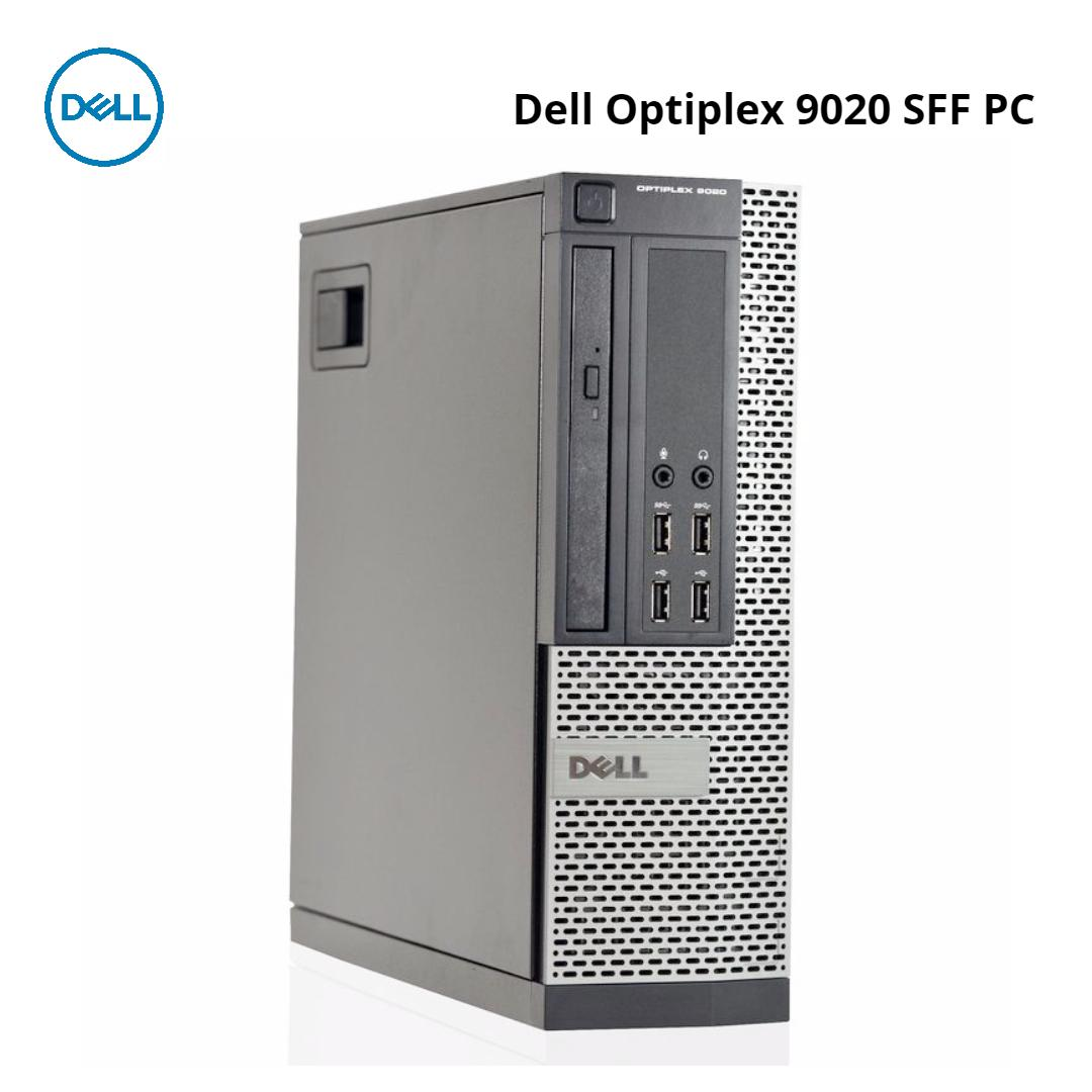 Dell Optiplex 9020 SFF Desktop Quad Core i5-4570#3.2GHz 4GB DDR3 240GB SSD Win 10 Pro Used Warranty