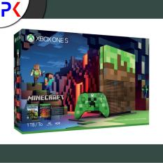 Xbox One S 1TB (ASIA) Minecraft Limited Edition Bundle