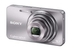 Sony Cyber-shot DSC-W570 Digital Camera (Silver)