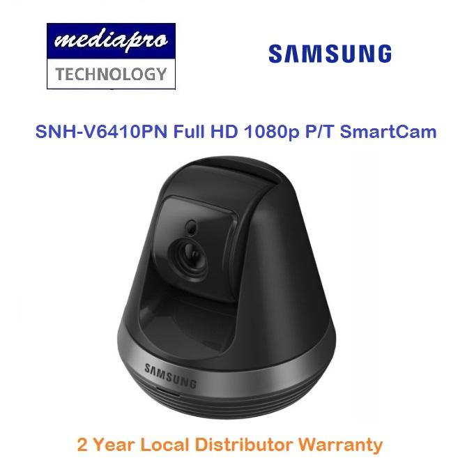 Samsung SNH-V6410PN Full HD 1080p SmartCam Pan & Tilt WiFi Camera with Object Tracking