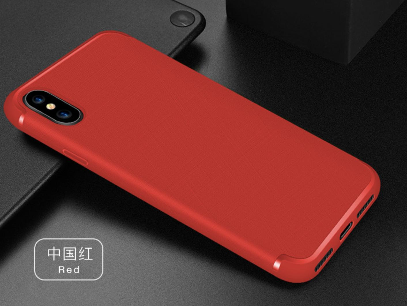 Ultra Thin Soft Silicone iPhone X, iPhone Xs Phone Cover Casing Non Slip Matte Surface Premium Quality
