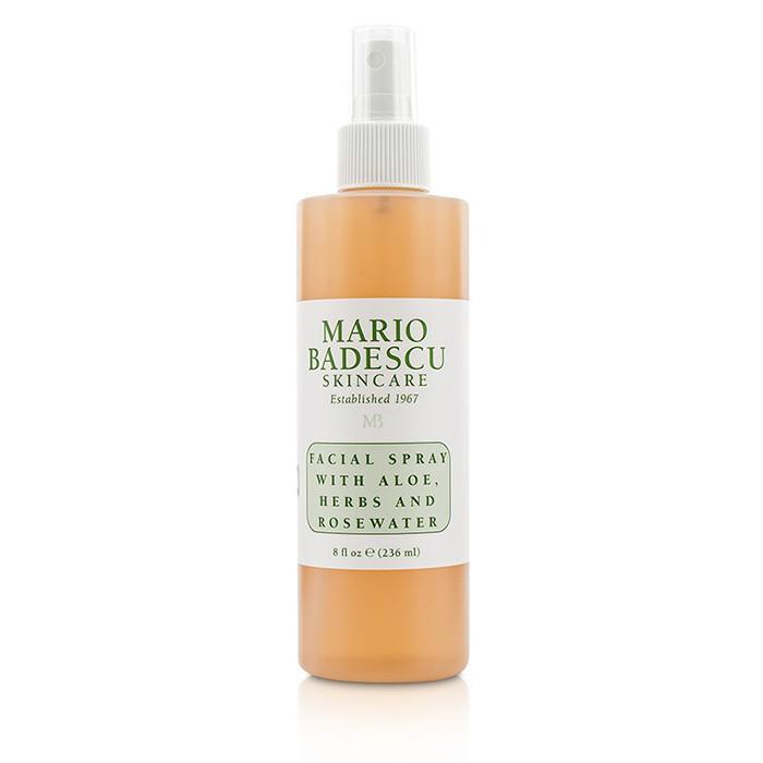 Mario Badescu Facial Spray With Aloe, Herbs Rosewater - For All Skin Types 236ml/8oz