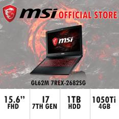 MSI GL62M 7REX – (i7-7700HQ / GTX 1050Ti / 128GB SSD+1TB HDD) GAMING LAPTOP