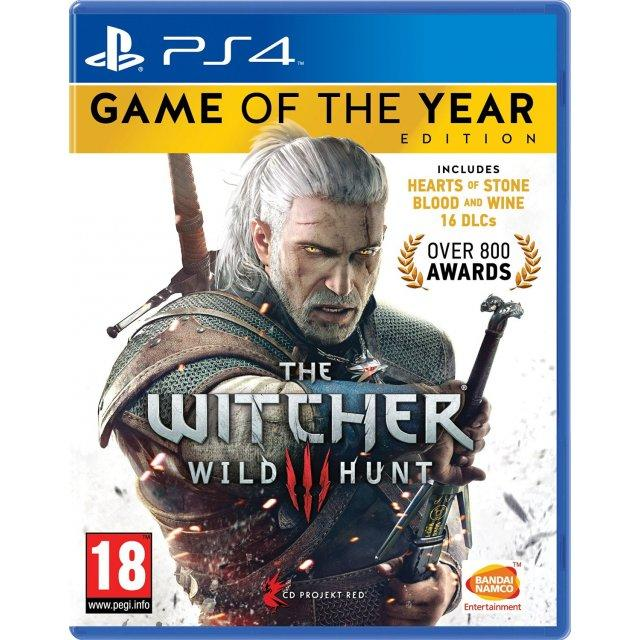 PS4 The Witcher 3: Wild Hunt GOTY Edition-EUR(R2)