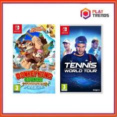 (Crazy Game Bundle) Nintendo Switch Donkey Kong Country: Tropical Freeze + Nintendo Switch Tennis World Tour