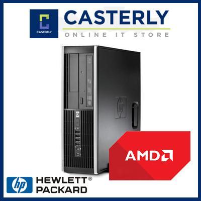 [Refurbished] HP Compaq 6005 pro SFF Desktop / AMD-B26 / 2GB RAM / 250GB HDD / Win 7 / 1mth...