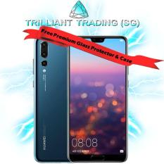 HUAWEI P20 PRO 6GB+128GB (SINGAPORE WARRANTY) WITH FREE PREMIUM CASE + TEMPERED GLASS + SWEAT-PROOF BLUETOOTH IN-EAR HEADPHONES