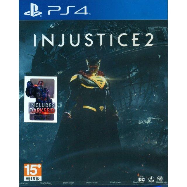 PS4 Injustice 2 Standard Edition-AS (R3)(PLAS 07105)