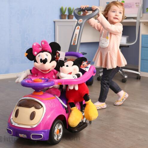 Sale ส่งท้ายปีท็อป 1 ดีที่สุด Unbranded/Generic รถเข็นเด็กสามล้อ ? Delivery?High A + B Multifunctional เด็กรถถีบบิดสี่ล้อเดินของเล่นทารกรถเข็นเด็กทารก คลิ๊กรับคูปองส่วนลด