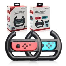 Casefactorie TNS-852 Controller Direction Manipulate Wheel for Nintendo Switch Joy-Con 2 Pcs / 1 Pair Black, Convenient Easy to Install Light-Weight Compact Wheel Directional Controller, Designed Specifically for Nintendo Switch Racing Games