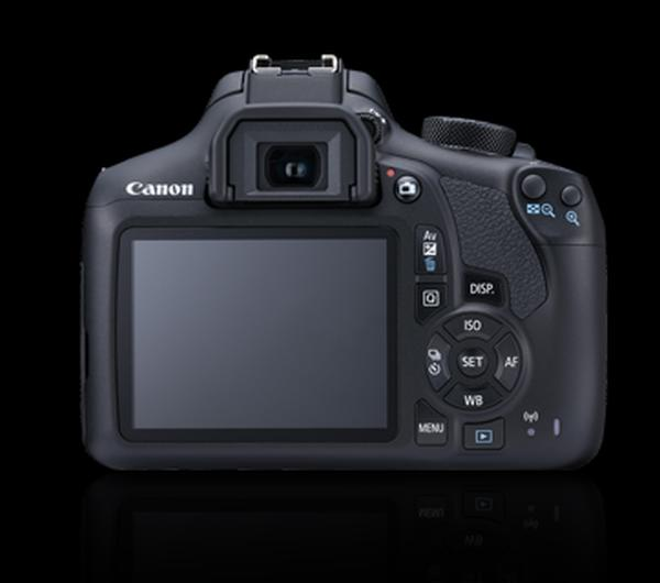 Canon EOS 1300D with EFs18-55mm II is Kit Black -export only