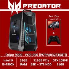 Predator Orion 9000 PO9-900 (i979MR323T08Ti) Gaming Desktop – Intel Core i9-7900X processor with NVIDIA GeForce GTX 1080Ti – Free KG271 Monitor + Xbox Wireless Controller