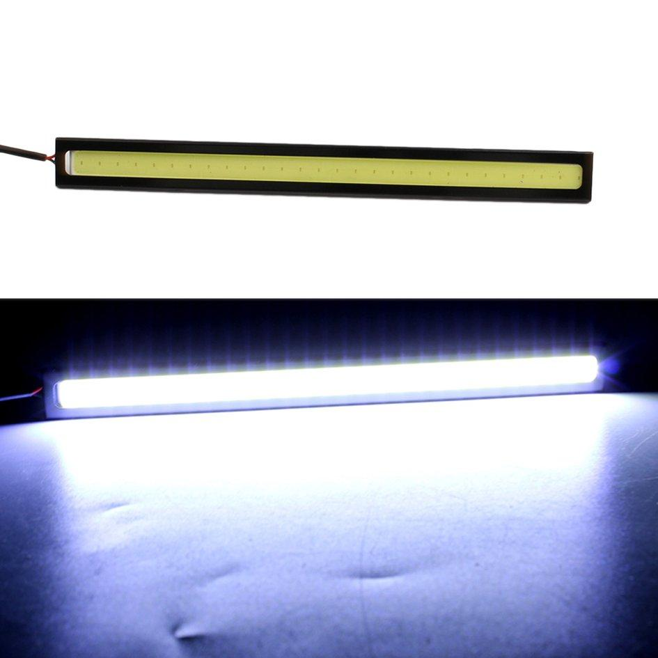 OH 2pcs 12V 0.33 A LED COB Car Auto DRL Driving Daytime Running Lamp Fog Light - thumbnail