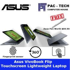 Asus VivoBook Flip 14 TP410UA-EC473T 2-In-1 Laptop/14″ FHD TS/8th Generation Processor/8GB RAM/1TB HDD/Free Asus Pen Worth $69.90