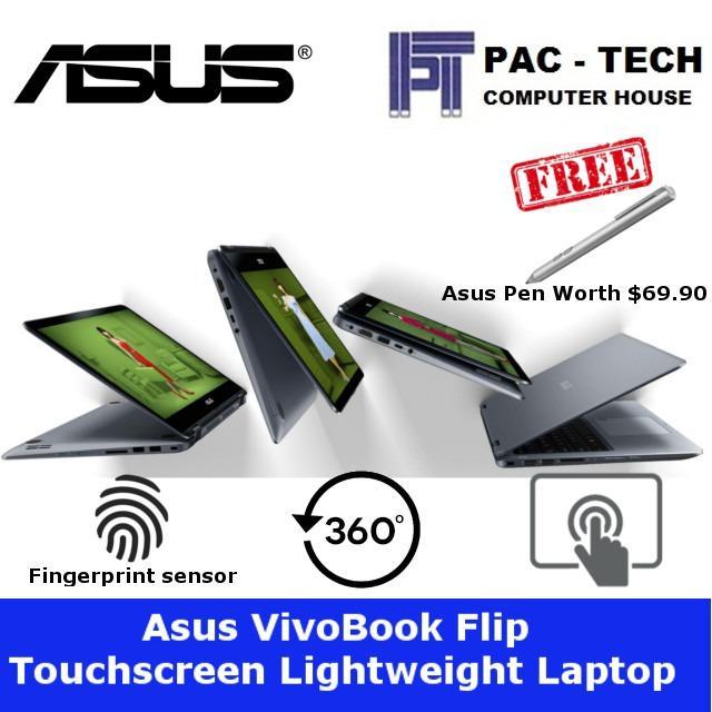 Asus VivoBook Flip 14 TP410UA-EC473T 2-In-1 Laptop/14