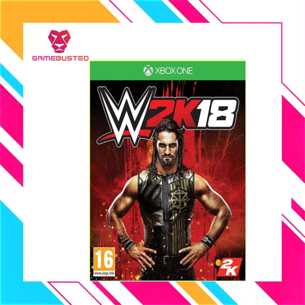 XBOX ONE WWE 2K18 (PAL)