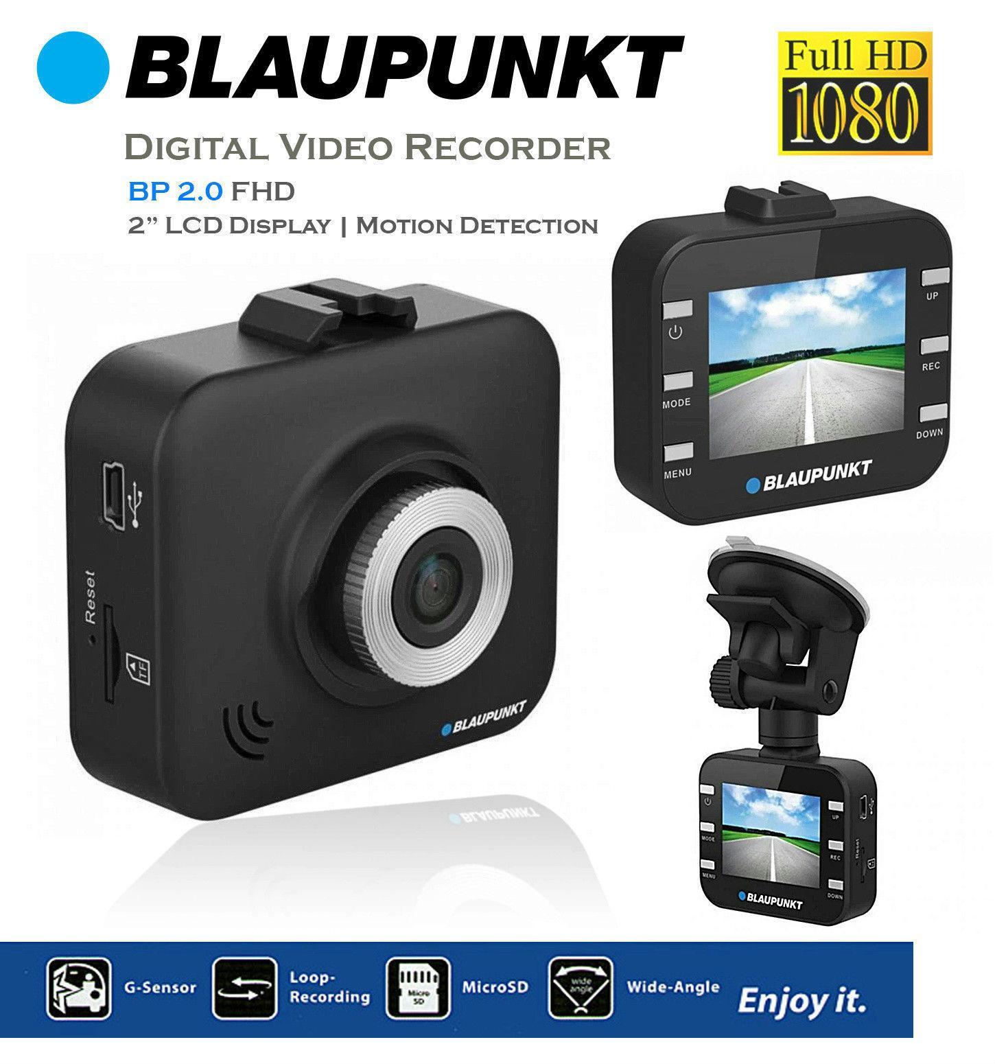 Blaupunkt BP 2.0 Full HD DVR Car Camera with Screen