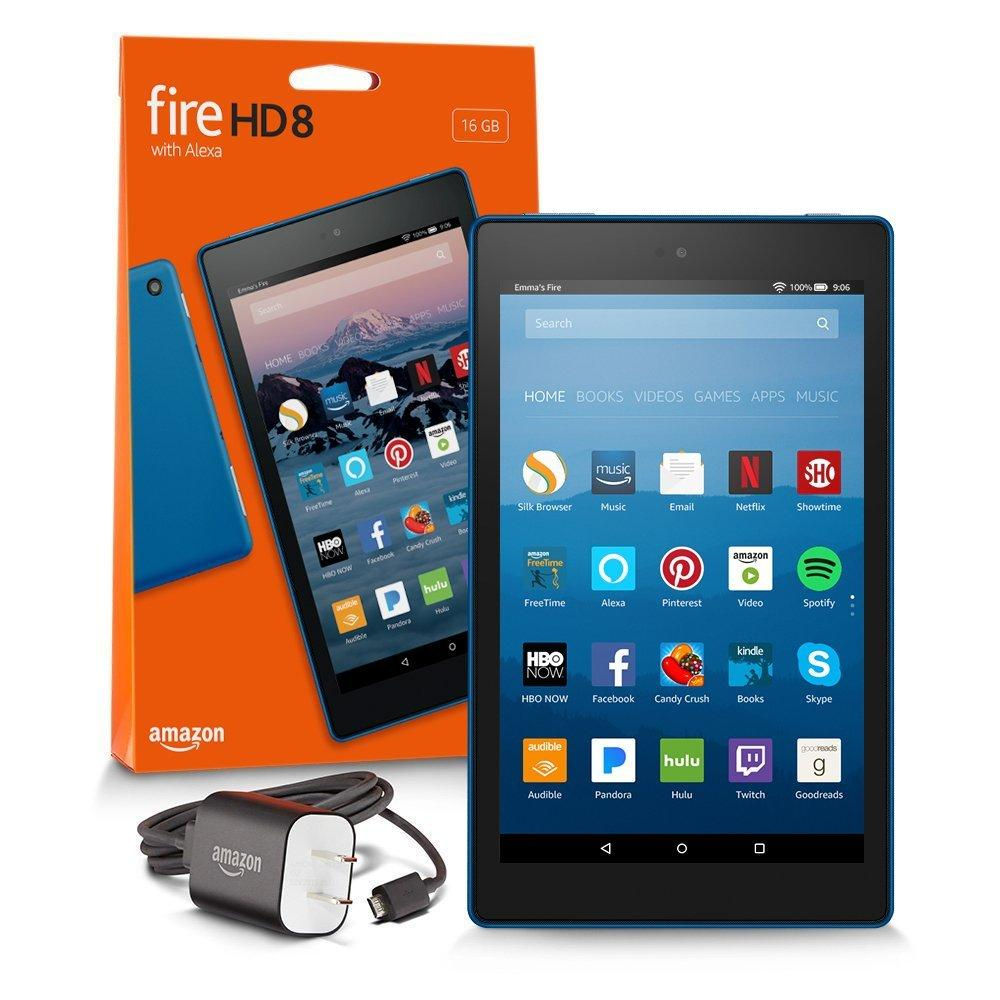 Amazon Fire HD 8 Tablet with Alexa, 8