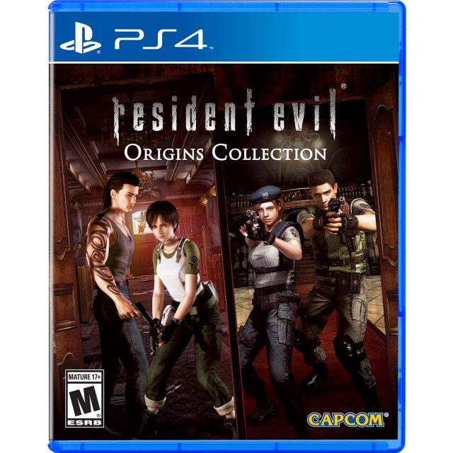 PS4 Resident Evil Origins Collection-AS (R3)*(Age Advisory)