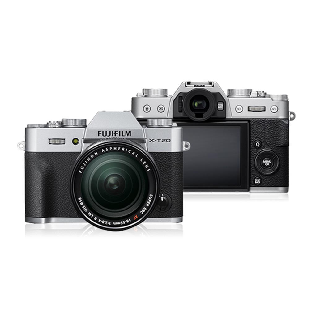 Fujifilm X-T20 Mirrorless Digital Camera + Fujinon XF 18-55mm Lens