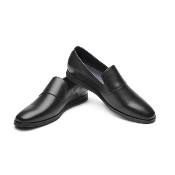 les hommes d'affaires noirs de de de chaussures en cuir simple un pied plat mocassins en cuir chaussures en cuir, vêteHommes ts élégants pied portant sur les chaussures en cuir 5ba5ee