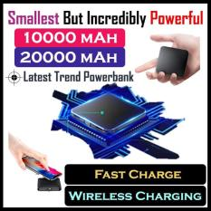 Smallest in the World PowerBank Exclusive Wireless Charging Lightweight