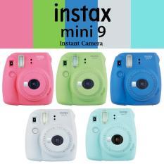 Fujifilm Instax Mini 9 Instant Camera with 1 pack of free film (assorted design)