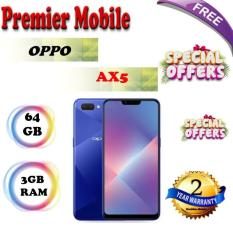 Oppo AX5 64GB + 3GB/ Telco 2 Years Warranty By OPPO