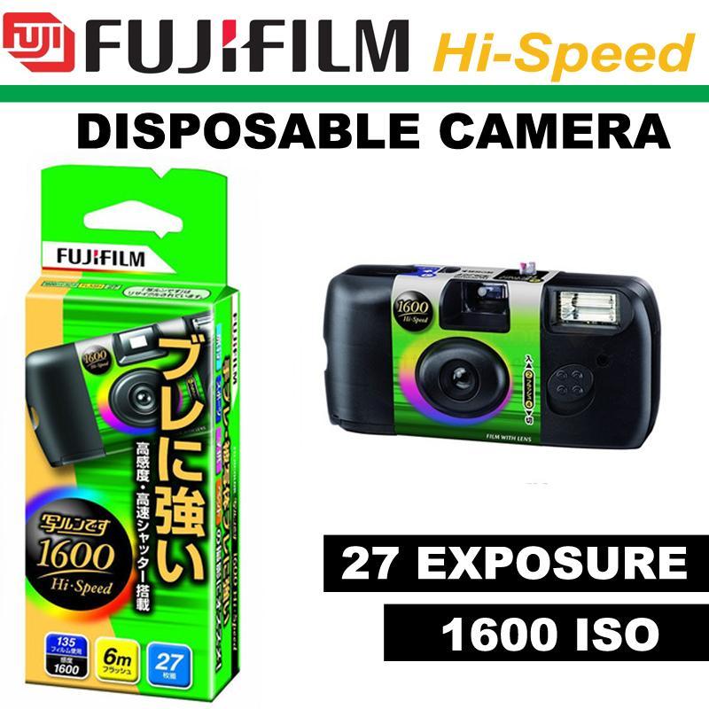 Fujifilm 1600 Hi-speed Simple Ace 27 Exposures disposable camera
