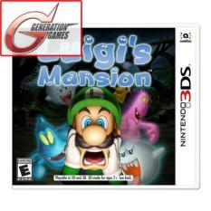 Nintendo 3DS Luigi's Mansion (English)