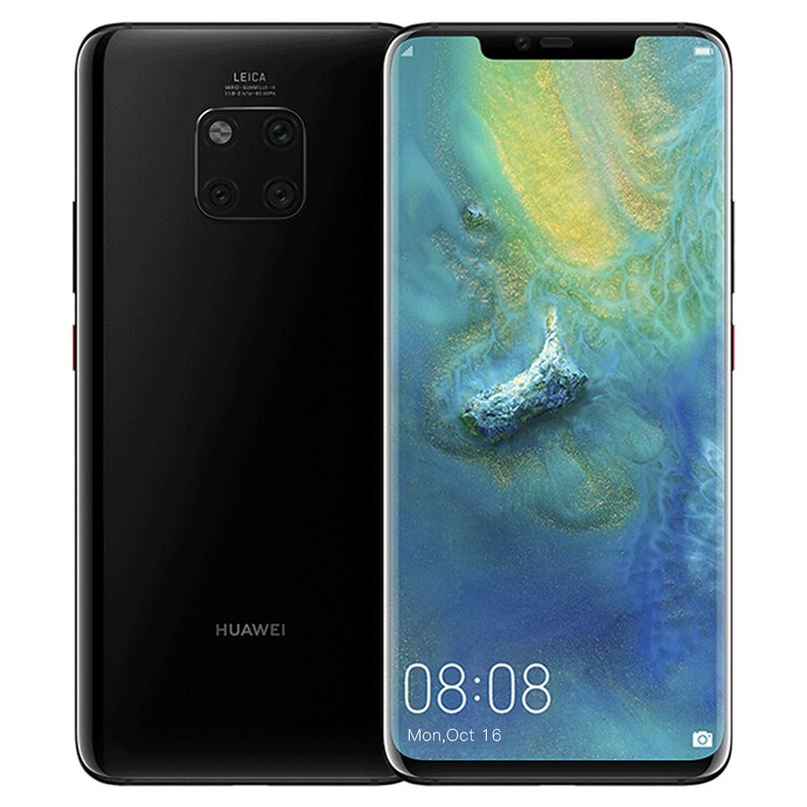 New Arrival Huawei Mate 20 Pro 6GB 128GB AI Leica Triple Rear Camera Kirin 980 CPU 6.39″ 3120x1440P Screen Android 9 Smartphone