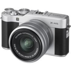Fujifilm X-A5 Mirrorless Digital Camera with 15-45mm Lens (Silver)
