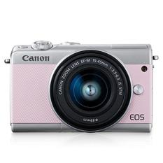 Canon EOS M100 15-45mm Kit (Pink) (FREE 16GB SD Card)