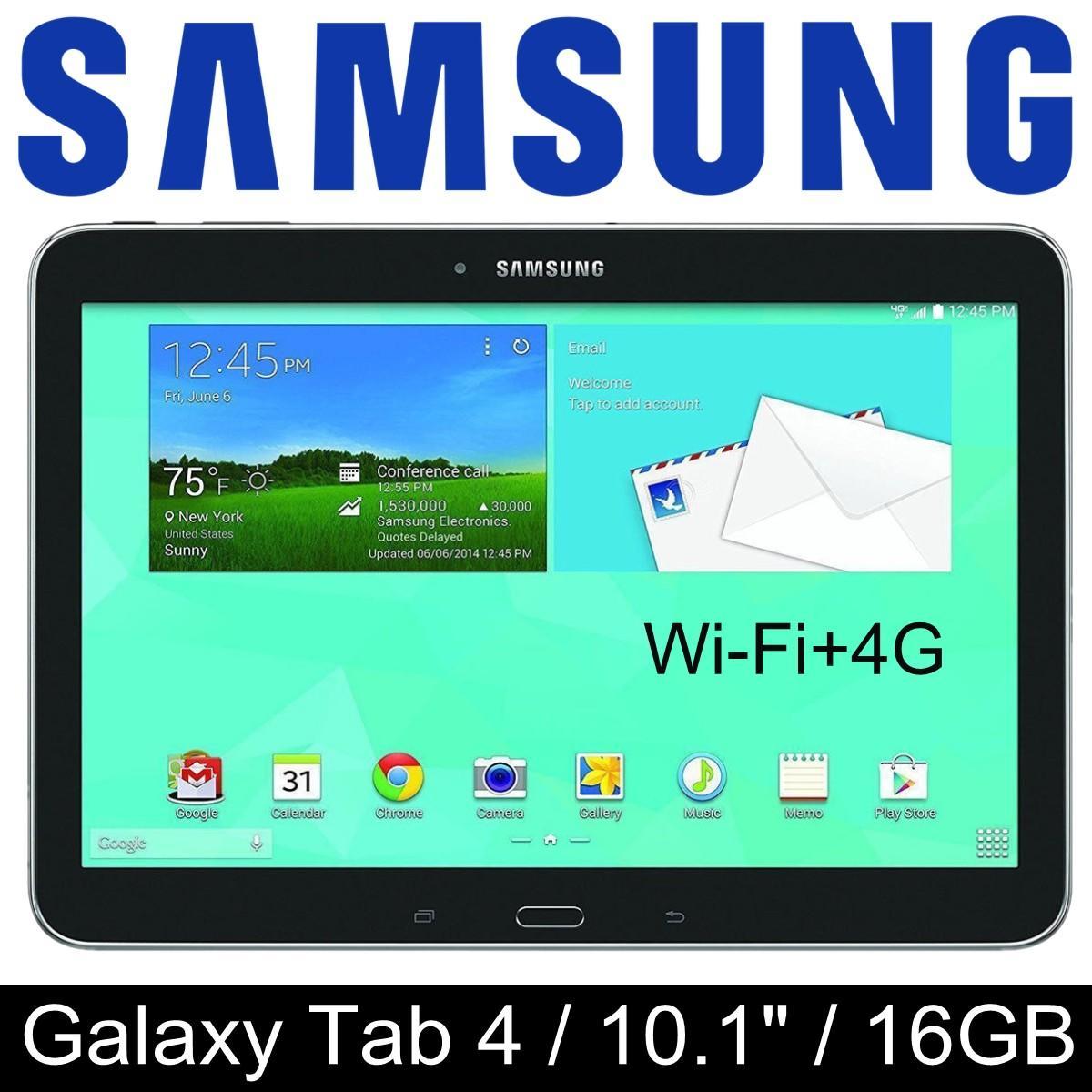 Samsung Galaxy Tab 4 / 10.1 inch / Wi-Fi+4G / 1.5GB RAM / 16GB ROM / Refurbished set /