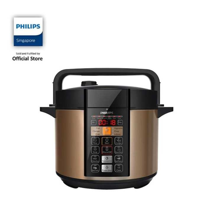 Philips Viva Collection Electric Pressure Cooker (6L) - HD2139/62