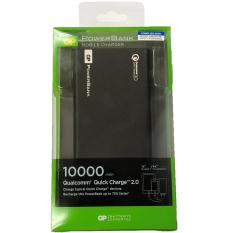 GP PowerBank Mobile Charger Complies with Spring Singapore Safety Standards 10000 mAh