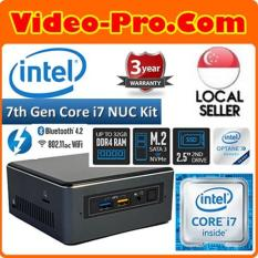 Intel NUC7I7BNH 7th Gen i7-7567U 3.5 GHz DDR4/M.2,Intel HD Graphics 650,Thunderbolt 3, Micro SDXC Slot ,Multi-color Selectable Front panel LED ring, 3 Years Warranty