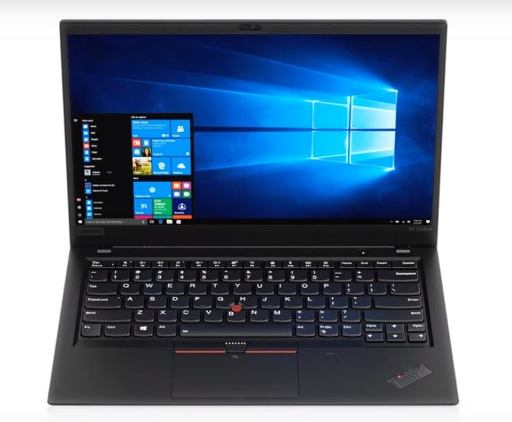 Lenovo X1 Carbon Intel Gen 8 Processor Notebooks