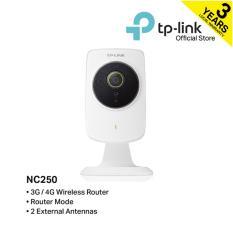 TP-LINK – NC250 HD Day/Night Cloud Camera & 300Mbps Wi-Fi Range Extender
