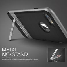 VRS Design High Pro SHIELD Slim Kickstand Case iPhone 7 iPhone 8 Steel Silver