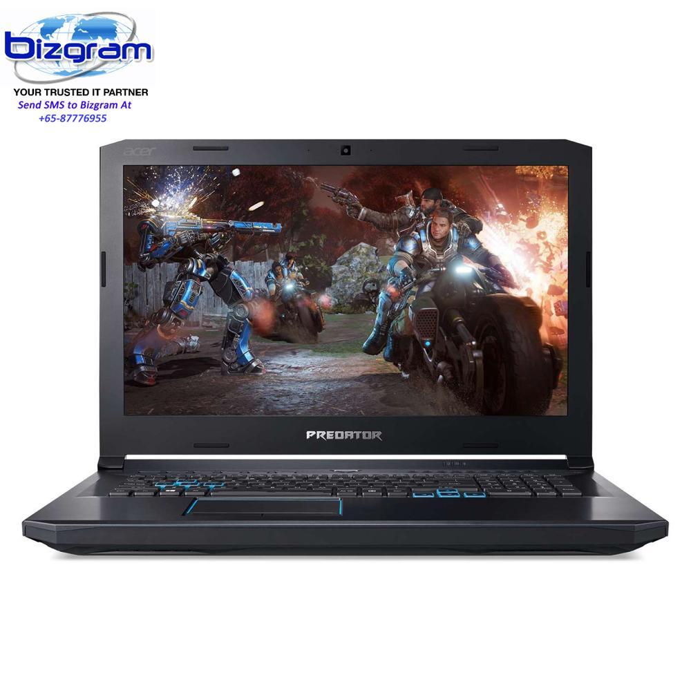 Acer Predator Helios Ph517-51-79Tx 17.3 In Intel Core I7-8750H 16Gb 256Gb Ssd+1Tb Hdd Win 10 Black