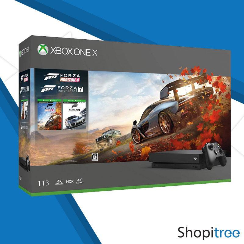 XBox One X 1TB Console Forza Horizon 4 Bundle + 1 Year Warranty by Microsoft Singapore