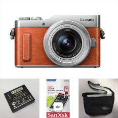 Panasonic Lumix DC-GF10 Micro Four Thirds Mirrorless Camera with 12-32mm Lens (Orange)