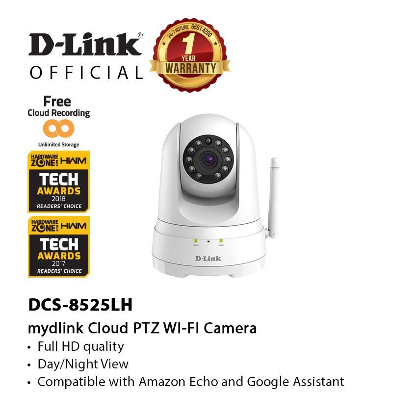 D-Link DCS-8525LH Full HD Pan and Tilt Wi-Fi Camera