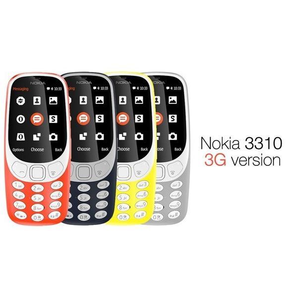 Nokia 3310 3G Phone (New Model)