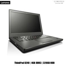 Lenovo ThinkPad X240 12.5 in LED Business Ultrabook i5-4200U@1.6Ghz 4GB RAM 320GB HDD WIN 10 Pro 30 days warranty