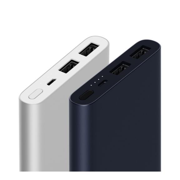 Xiaomi Powerbank 10000mAh GREY 2018 Two ports (EXPORT)