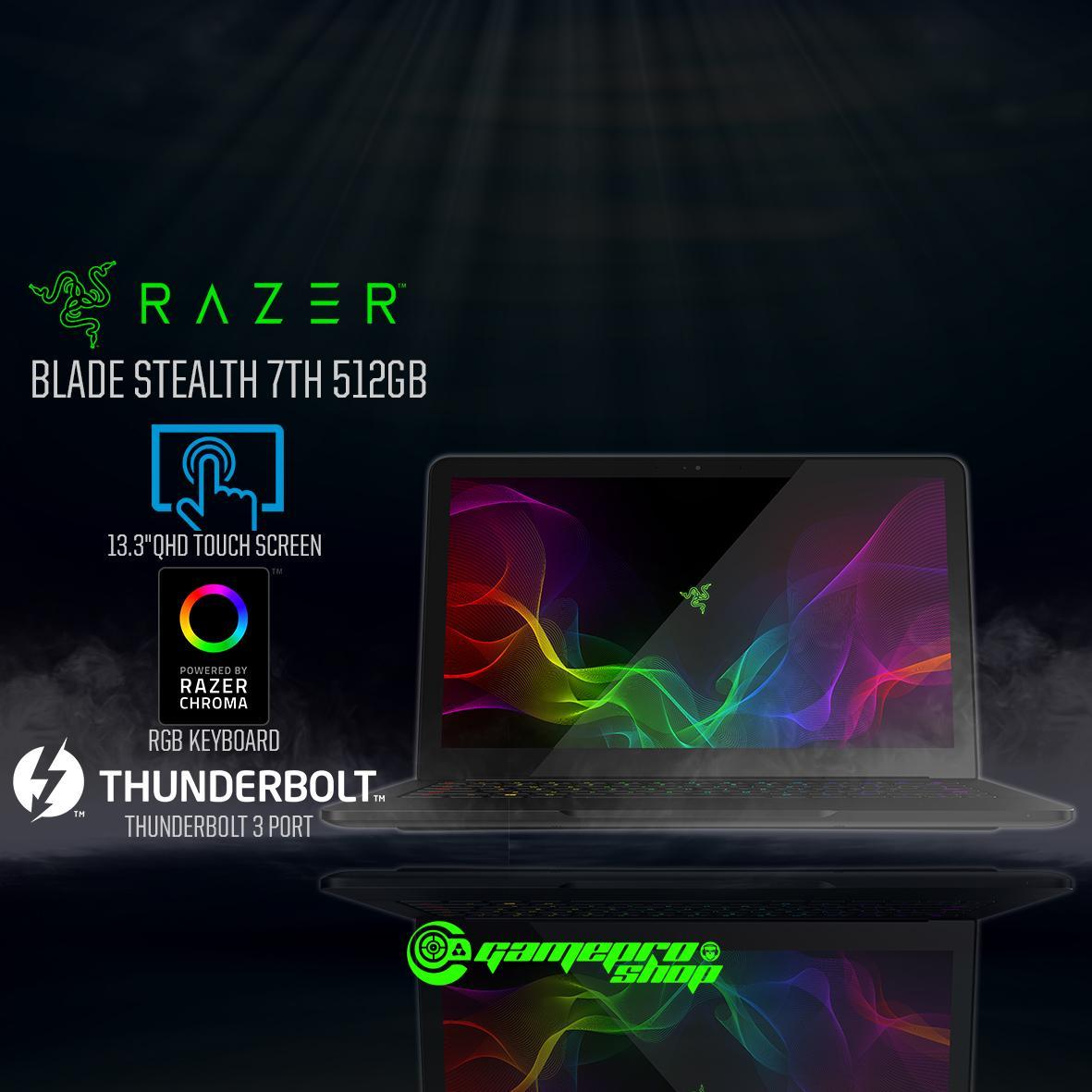 THE NEW RAZER BLADE STEALTH 13.3″ – (512GB) *HAJI PROMO*