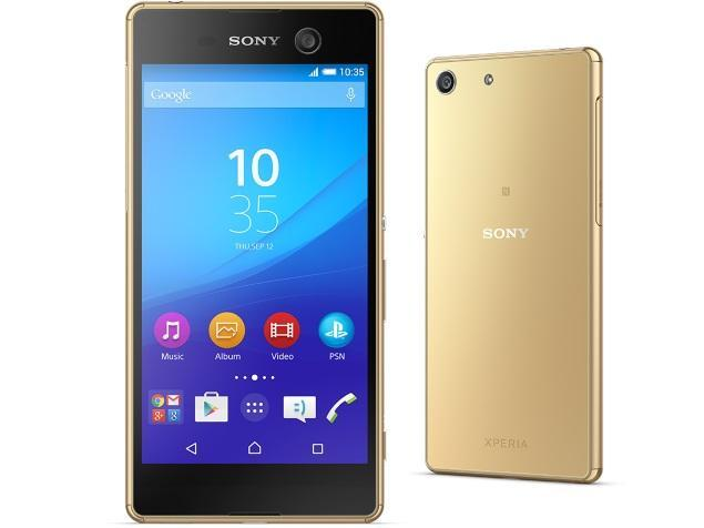 [BRAND NEW] Sony M5 (E5603) Smart Mobile Phone / 5 inch FHD Display / 3GB RAM / 1 month warranty (GOLD)