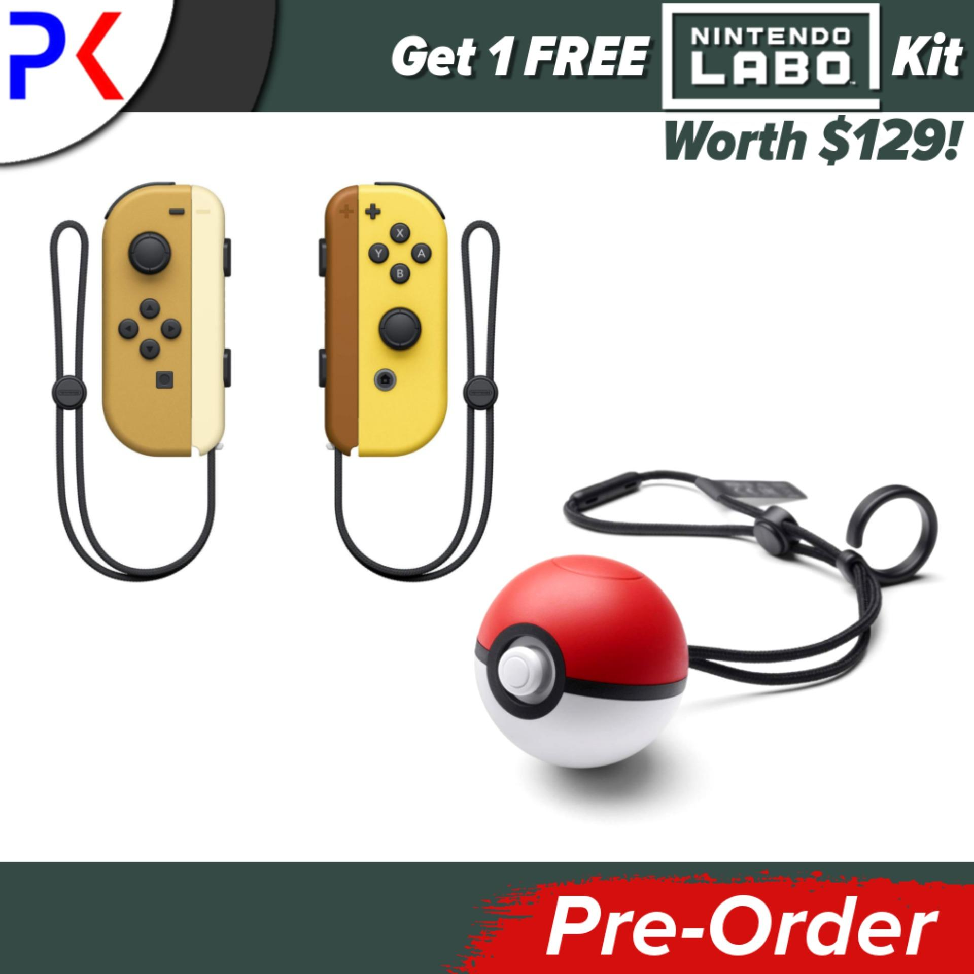 [Pre-Order] Nintendo Switch Console Pokemon Lets Go Edition [ASIA] + Free Labo Kit (Ships earliest 16 November)